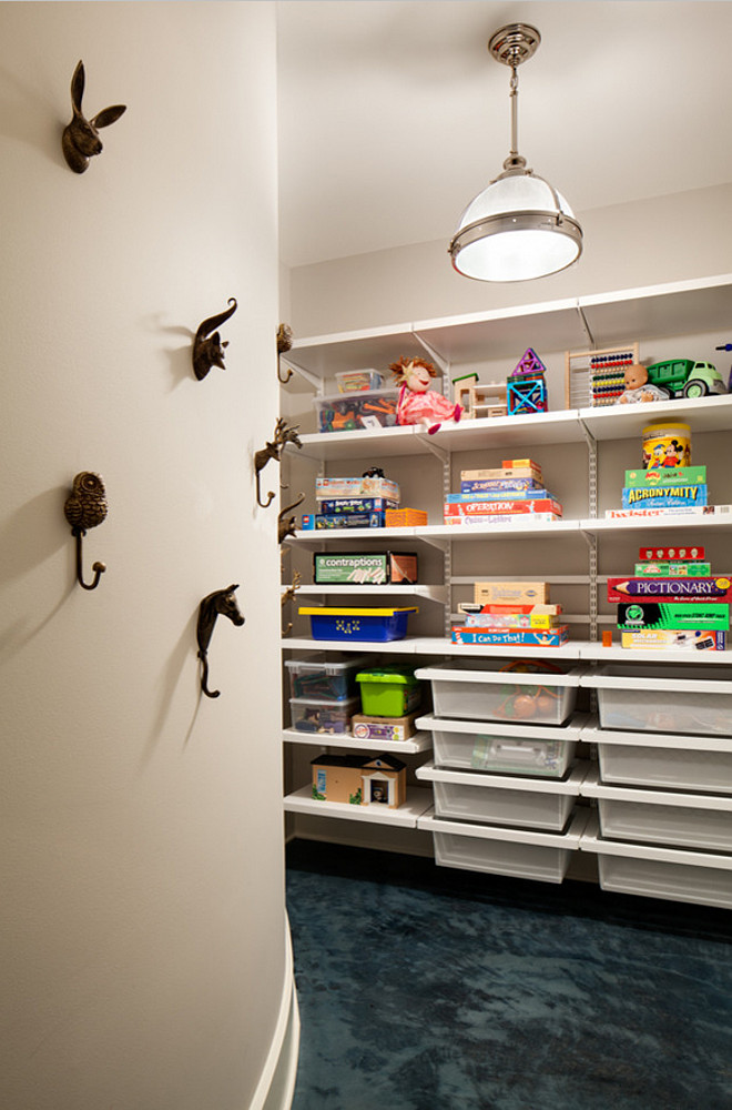 Toy Storage Ideas. Toy Storage Closet. Toy Storage Closet Ideas. Toy Storage. Toy Storage Organizer. Toy Storage Orgaziner Ideas. #Toy #Storage Wade Weissmann Architecture. David Bader Photography.