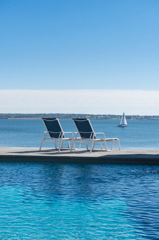 Waterfront Pool Design ideas. Davitt Design Build, Inc. Nat Rea Photography.