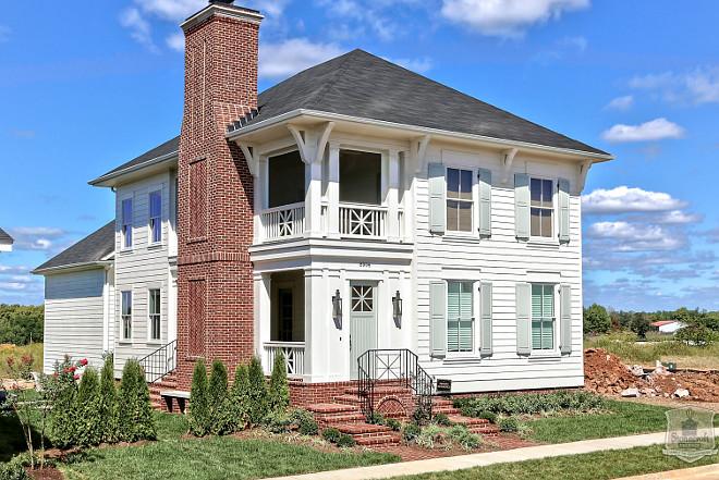 White Home Exterior Paint Color. White Home Exterior Paint Color Ideas. Stonecroft Homes.