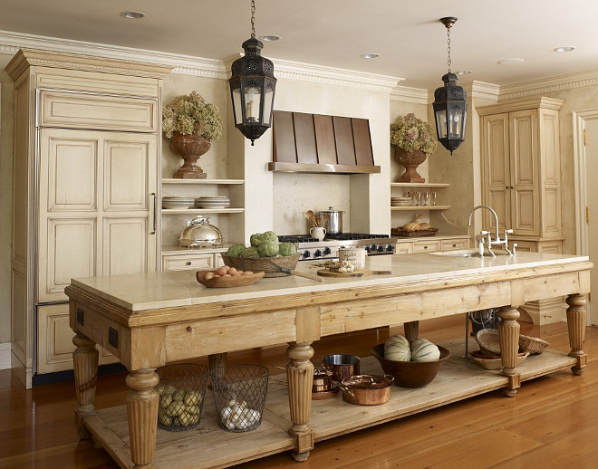 freestanding farmhouse kitchen island freestanding farmhouse kitchen island style freestanding hickman design associates - Farmhouse Interior Design Ideas