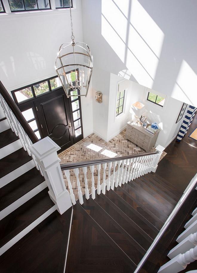 Herringbone Stairway Flooring. Herringbone Stairway Hardwood Flooring. Herringbone Stairway Hardwood Flooring Ideas. Herringbone Patterned Stairway Hardwood Flooring. #Herringbone #Stairway #Hardwood #Flooring