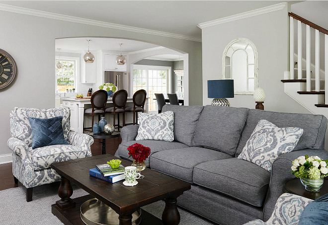 Cape cod cottage remodel home bunch interior design ideas for Stonington grey benjamin moore