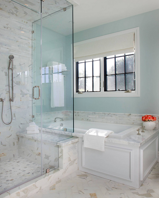 Aqua Blue Paint Color. Aqua Blue Paint Color Ideas. Aqua blue paint color is 8581W Designer Grey by Frazee. #Aqua #Blue #PaintColor
