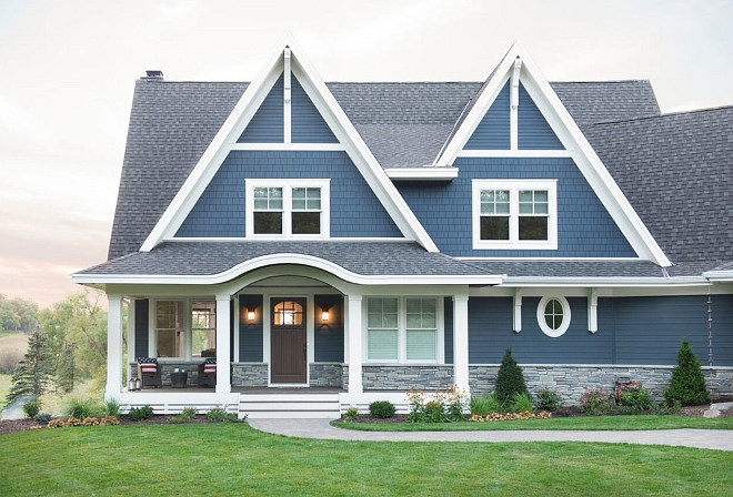 Blue Home Paint Color. Navy Blue Home Paint Color. Navy Blue Home Paint Color Ideas. Navy Blue Home Paint Color Suggestions. Navy Blue Home Exterior Paint Color Mark D. Williams Custom Homes Inc.