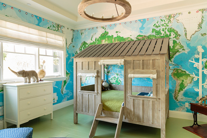 Boys Bedroom with custom bed. Boys Bed Ideas. Custom Boys Bed. House Custom Bed Ideas.