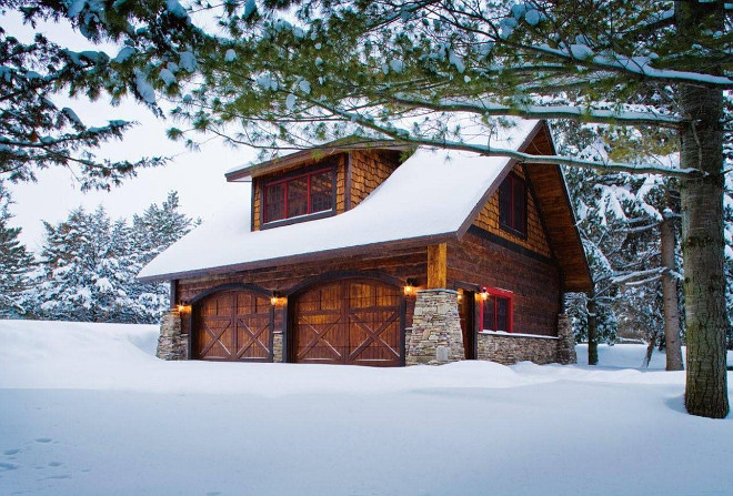 Protect your home this winter home bunch interior design for Detached carriage house