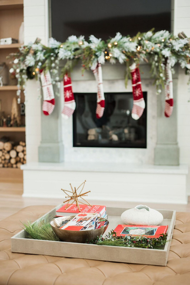Christmas Coffee Table Decor. Christmas Coffee Table Decorating Ideas. Christmas Coffee Table Decor Ideas. Easy Christmas Coffee Table Decor. #Christmas #CoffeeTable #Decor Gatehouse No.1.