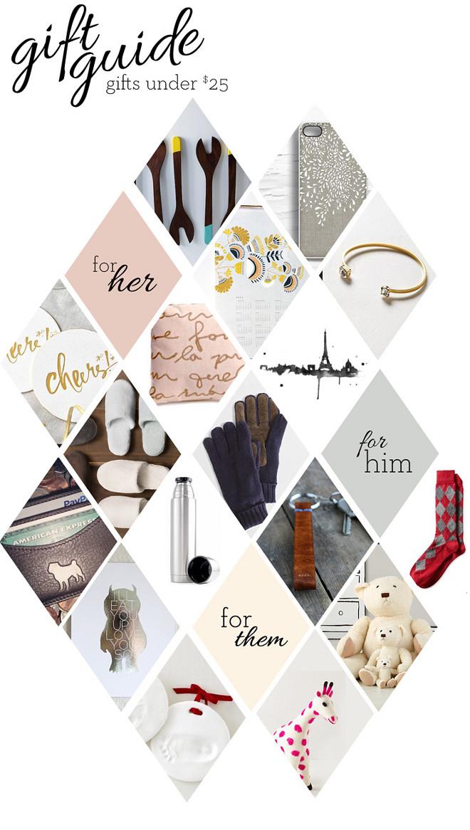 Christmas Gift Guide. Christmas Gift Ideas. Affordable Christmas gift ideas. #Christmas #Gift Via Musings from a Spitfiregirl.