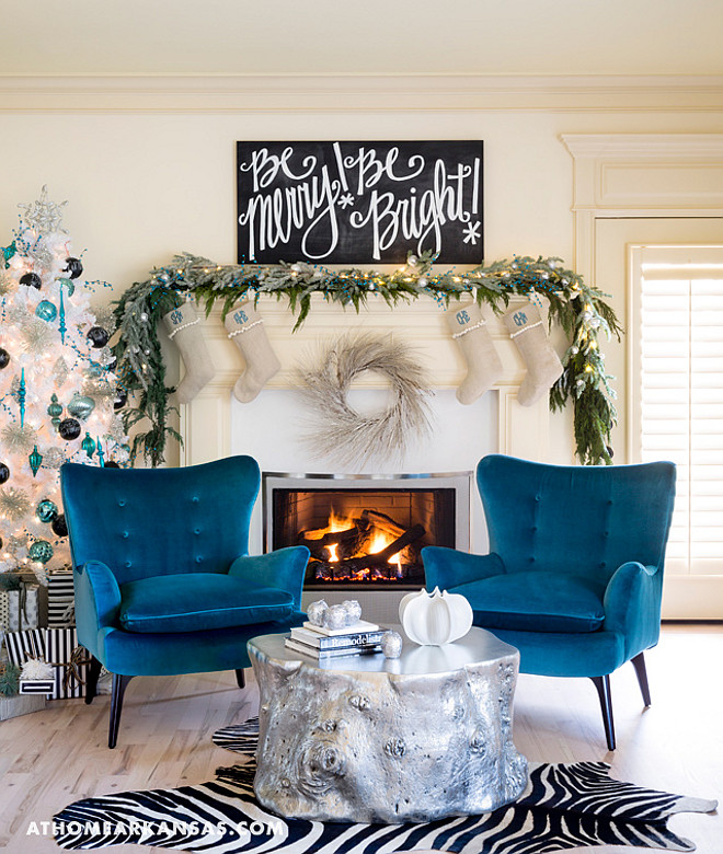 Blue and White Christmas. Blue and white Christmas Mantel. Blue and white Christmas Decor. Blue and white Christmas Ideas. Blue and white Christmas Mantel. Blue and white Christmas Tree. #BlueandwhiteChristmas #BlueandwhiteChristmasMantel #BlueandwhiteChristmasDecor #BlueandwhiteChristmasTree  Katie Grace Designs.