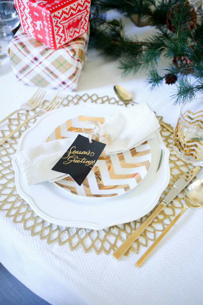 New christmas decorating ideas home bunch interior Christmas place setting ideas