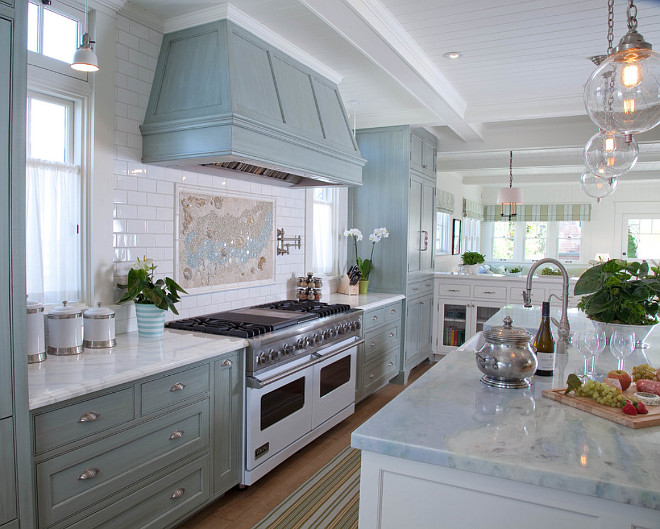 Counter to ceiling Backsplash. Kitchen with Counter to ceiling Backsplash. Kitchen with Counter to ceiling Subway Tile Backsplash. #CountertoceilingBacksplash #Backsplash Kim Grant Design Inc.