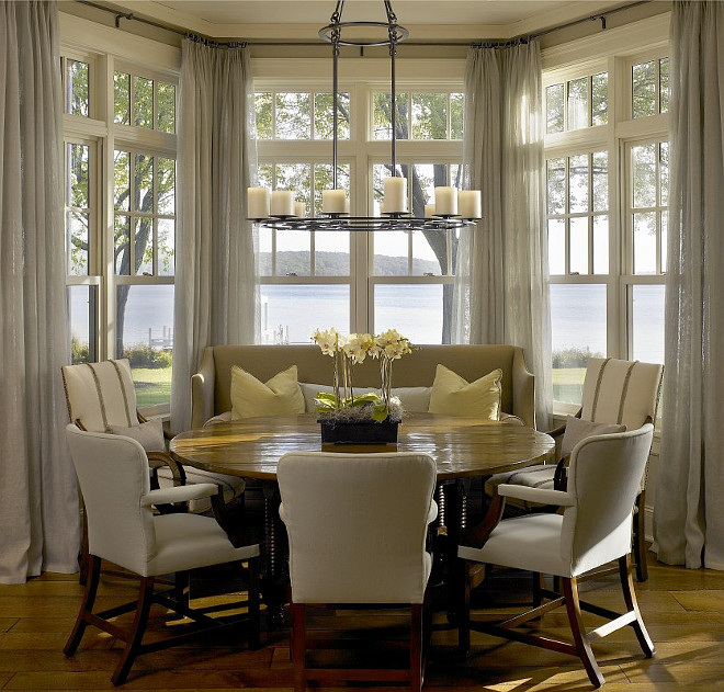 New interior design ideas for the new year home bunch for Dining room nook ideas