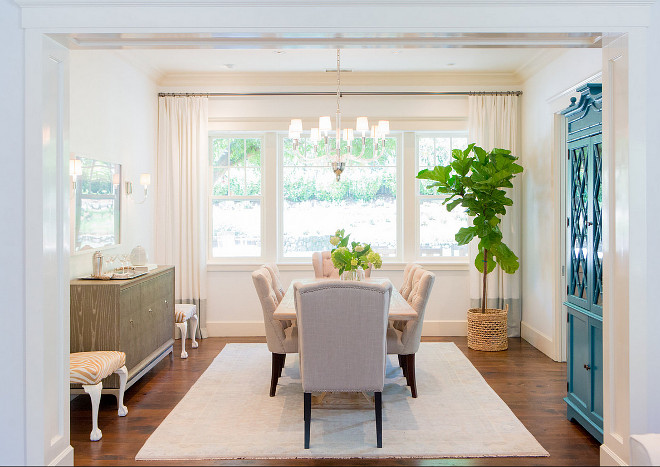 Dining Room. Dining room decor ideas. Neutral dining room. Dining room paint color. Dining room colors. Dining room furniture. #DiningRoom Braun + Adams Interiors.