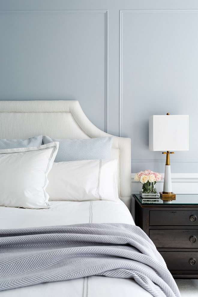 Gray Bedroom Paint Color. Gray Bedroom Paint Color Ideas. Best Gray Bedroom Paint Color. #Gray #Bedroom #PaintColor Chango & Co. Photo by Ball & Albanese.