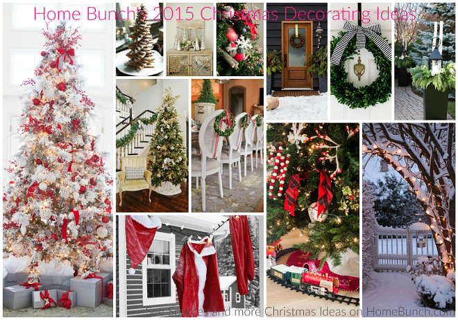 Home Bunch's 2015 Christmas Decorating Ideas