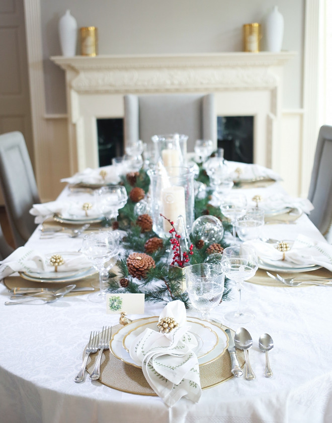 Hosting Christmas Dinner. How to host an impeccable Christmas Dinner. Christmas Dinner Table. #Christmas #Dinner #Table #Host Fashionable Hostess.