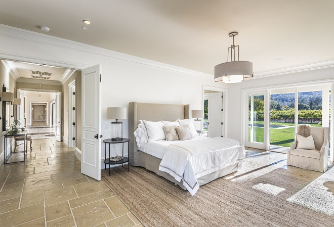 master bedroom flooring ideas napa valley farmhouse with neutral interiors home bunch 16063