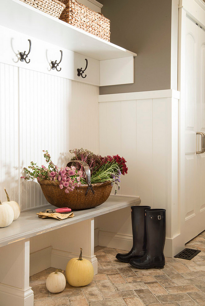 Mud room Bench and Flooring. Mud room Bench and Flooring ideas. Mud room Bench and Flooring suggestions. #Mudroom #Bench #Flooring Karr Bick.