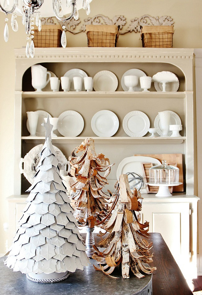 Natural Christmas Decorating Ideas. #Natural #Christmas #Decor Thistlewood Farms.