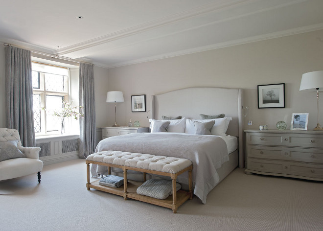 Neutral Master Bedroom. Neutral Master Bedroom Inspiration Sims Hilditch.