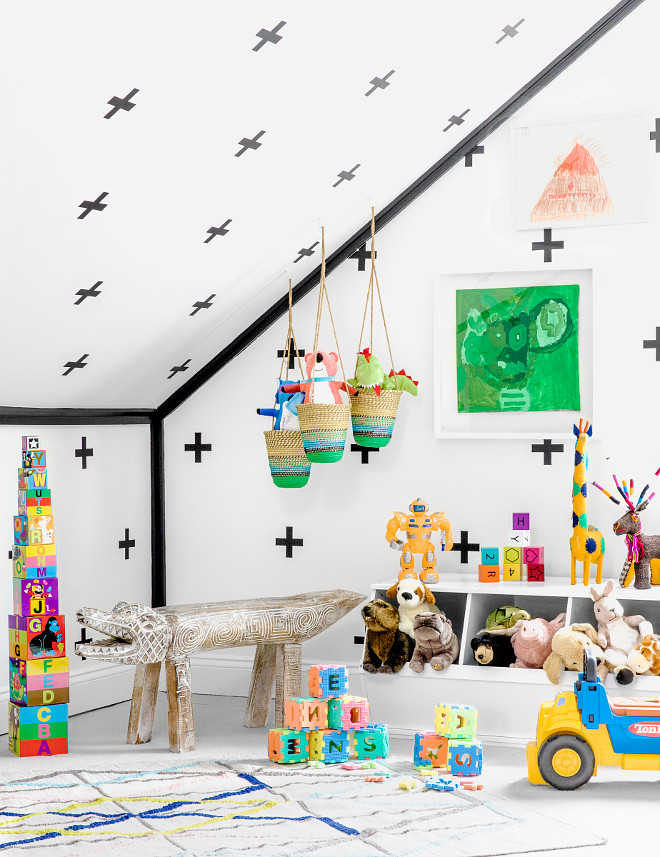 Playroom Toy Storage Ideas. Playroom Toys. Toy Storage. #Playroom #Toy #Storage Chango & Co. Sean Litchfield Photography.
