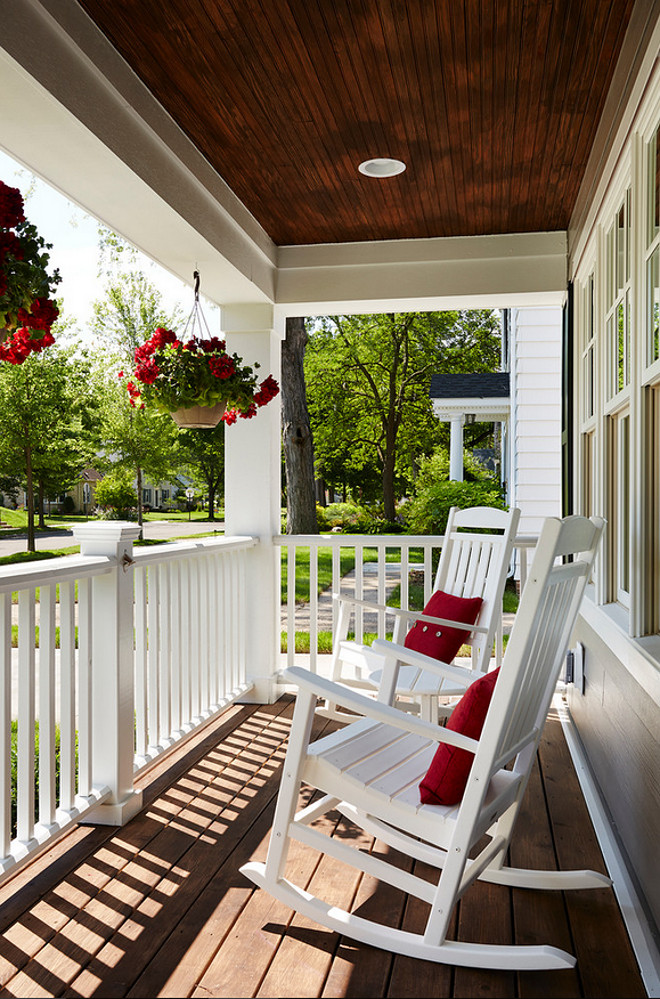 Porch. Front Porch. Front Porch Chairs. Front Porch Ceiling. Front Porch Flooring. Front Porch Flowers. Front Porch Lighting. Front Porch Railing #FrontPorch #Porch Anchor Builders.