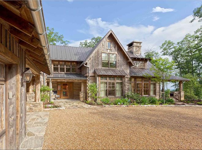 Rustic Home Design. Rustic Home Exterior Design. Rustic Home Ideas. #Rustic #Home Platt Architecture, PA.