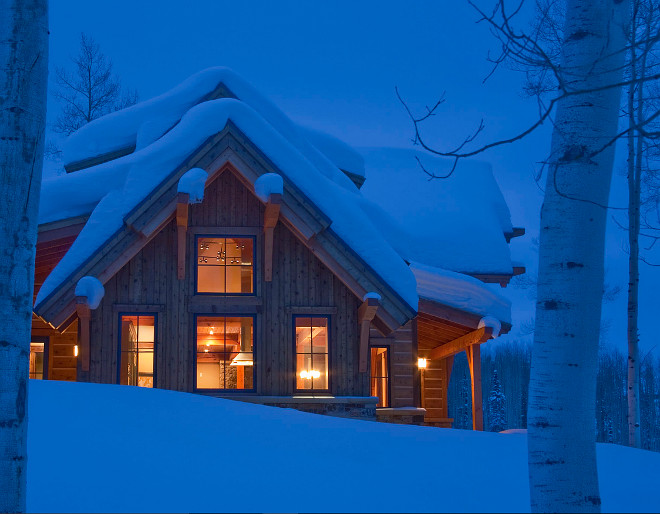 Ski Cabin. Ski Mountain Cabin Ideas. #Ski #Cabin Kelly & Stone Architects.