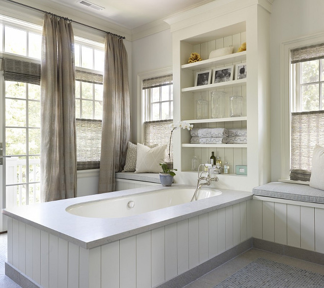 Tongue and Groove Bathtub. Tongue and Groove Bathtub ideas. Tongue and Groove Bathtub design #TongueandGroove #Bathtub #Bathroom Hickman Design Associates.