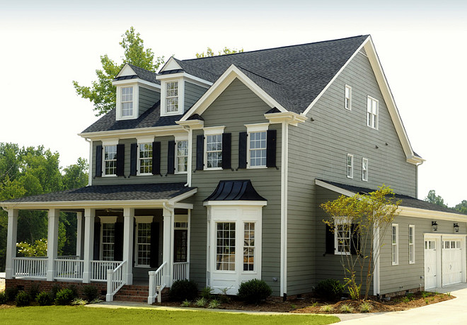 Benjamin Moore HC-104 Copley Gray. Benjamin Moore HC-104 Copley Gray Exterior Paint Color. Popular gray home paint color Benjamin Moore HC-104 Copley Gray. #BenjaminMooreHC104CopleyGray #BenjaminMooreCopleyGray #Gray #Home #Paintcolor Barrydowne Paint.