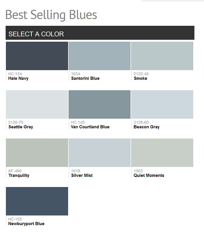 2016 paint color ideas for your home home bunch interior for Benjamin moore smoke gray