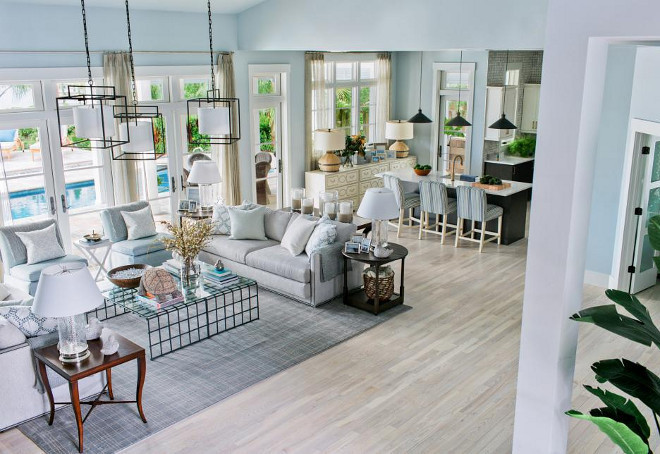 "HGTV Dream Home 2016 Flooring. HGTV Dream Home 2016 Flooring is BELLAWOOD 3/4"" x 3-1/4"" Matte Carriage House White Ash. #HGTVDreamHome2016 #Flooring"