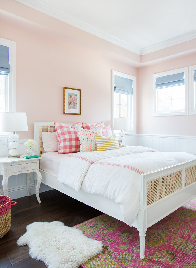 Benjamin Moore Love & Happiness. Benjamin Moore Love & Happiness. Benjamin Moore Love & Happiness Paint Color. Pale Pink Paint Color Benjamin Moore Love and Happiness #BenjaminMooreLoveHappiness Studio McGee.