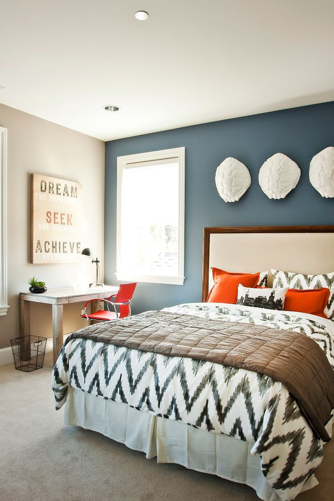 Bedroom Accent Wall Color Combination Colors
