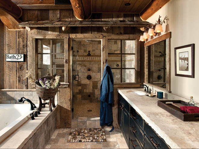 Rustic Bathroom. Rustic Bathroom Pictures. Rustic Bathroom Photos. Rustic Bathroom Design. Rustic Bathroom Paint Color. Rustic Bathroom Vanity. Rustic Bathroom Reclaimed Walls. Rustic Bathroom Reclaimed Wood #RusticBathroom #RusticBathroomReclaimedWood M.T.N Design.