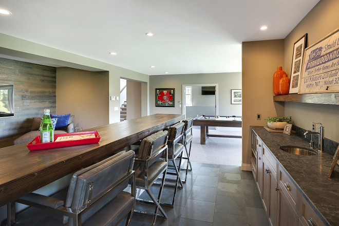 Basement Bar with Island. Basement Bar Island. Basement Bar Island Ideas. Basement Bar Island Layout #Basement #BarIsland