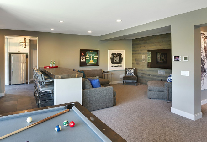 Basement. Basement layout. Basement with media room and bar layout. Basement #Basement#BasementLayout