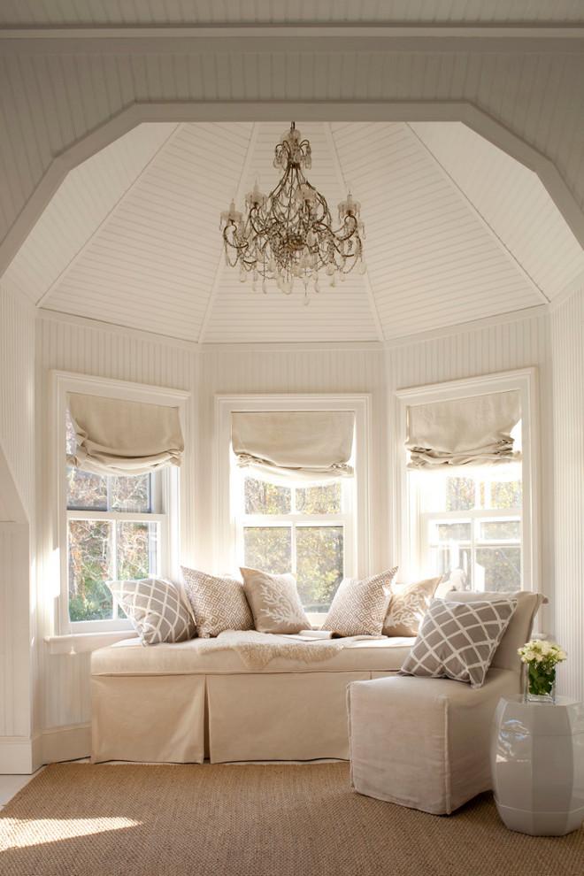 Benjamin Moore's Natura, Eggshell, Soft Chamois OC-13 (walls), Natura, Semi-Gloss, Soft Chamois OC-13 (trim), Natura, Flat, Soft Chamois OC-13 (ceiling) Bright Nest.