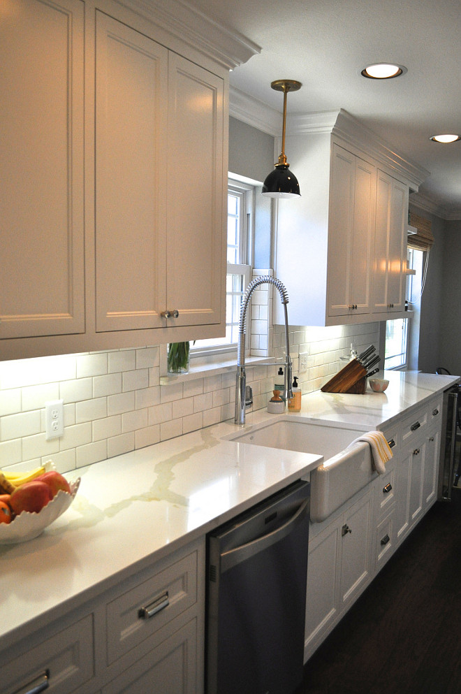 Permalink to White Kitchen Cupboards With White Appliances