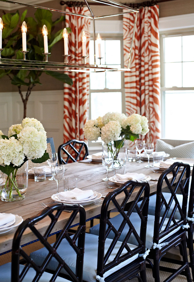 Home with inspiring coastal color palette home bunch for Ballard designs dining room