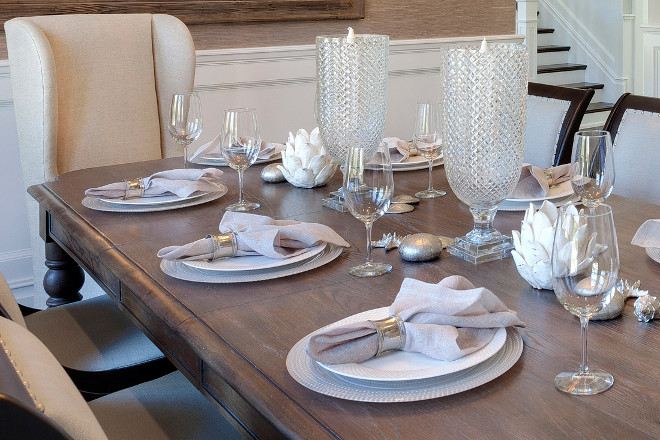 Elegant Table Decor and Settings. Elegant Table Decor and Setting photos. Elegant Table Decor and Setting pictures #ElegantTableDecor #TableSettings Casatopia, LLC - Ibi Designs