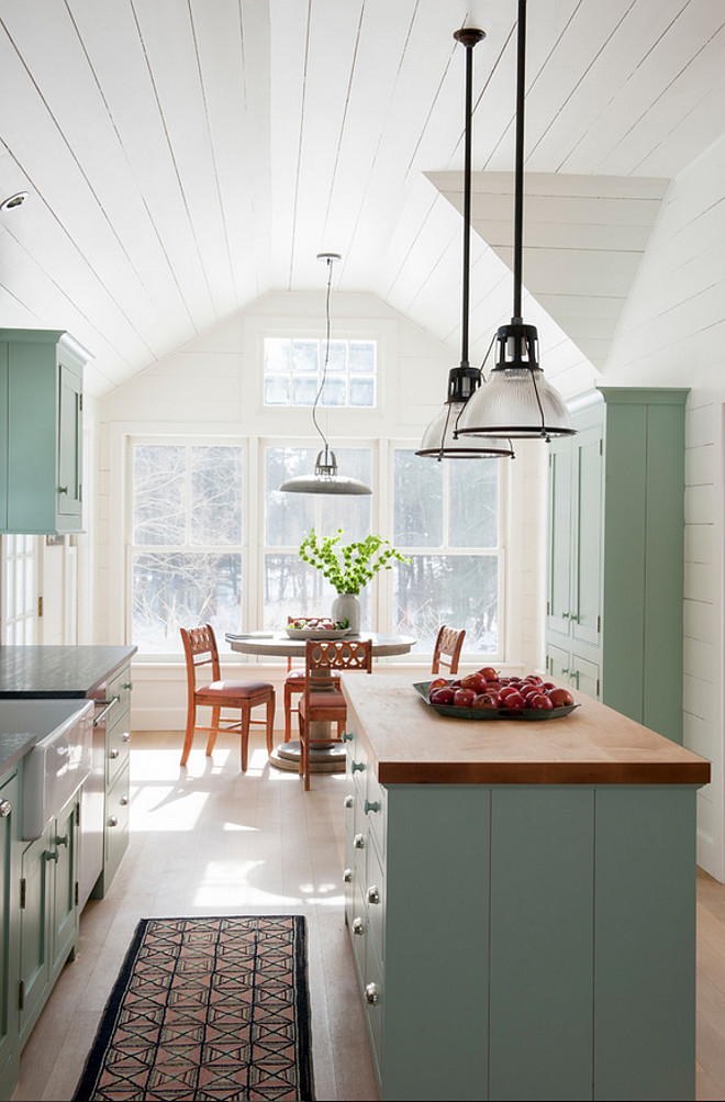 Farrow and Ball Green Blue. Farrow and Ball Green Blue Paint Color. Cabinet paint color is Farrow and Ball Green Blue #FarrowandBallGreenBlue Rafe Churchill.