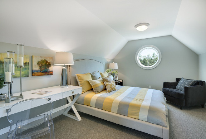 guest bedroom above garage guest bedroom above garage window guest bedroom above garage ideas two - Room Over Garage Design Ideas