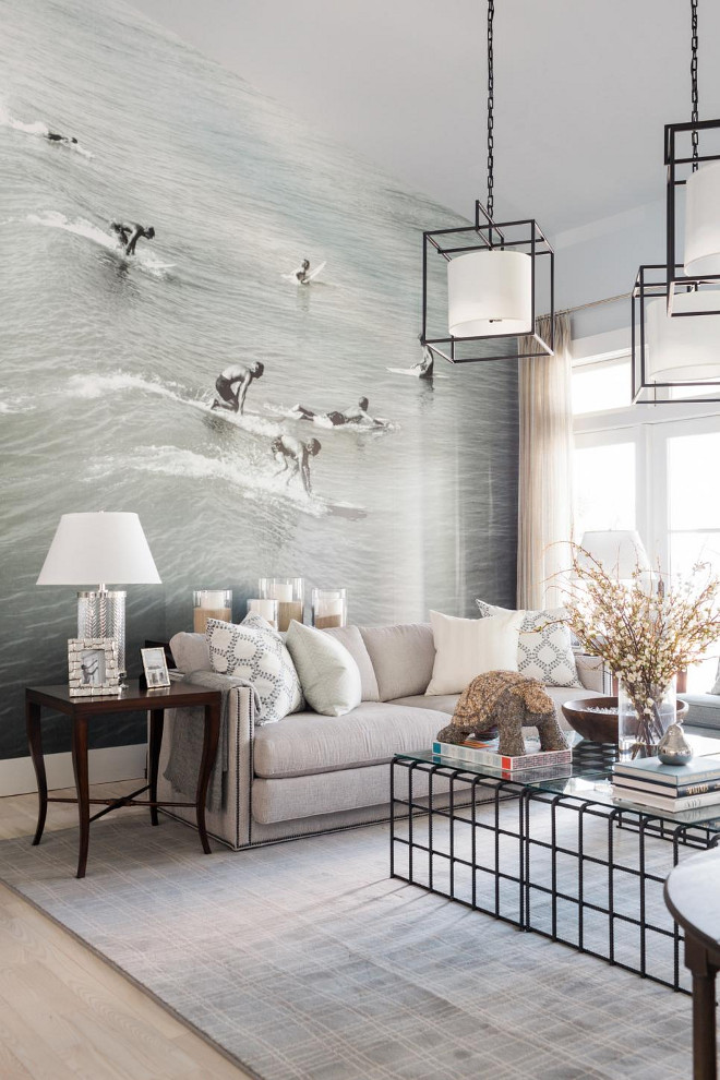 Dream Home Decorating Ideas houzz interior design ideas Hgtv Dream Home 2016 Living Room Mural The Mural Is A Photograph From 1970