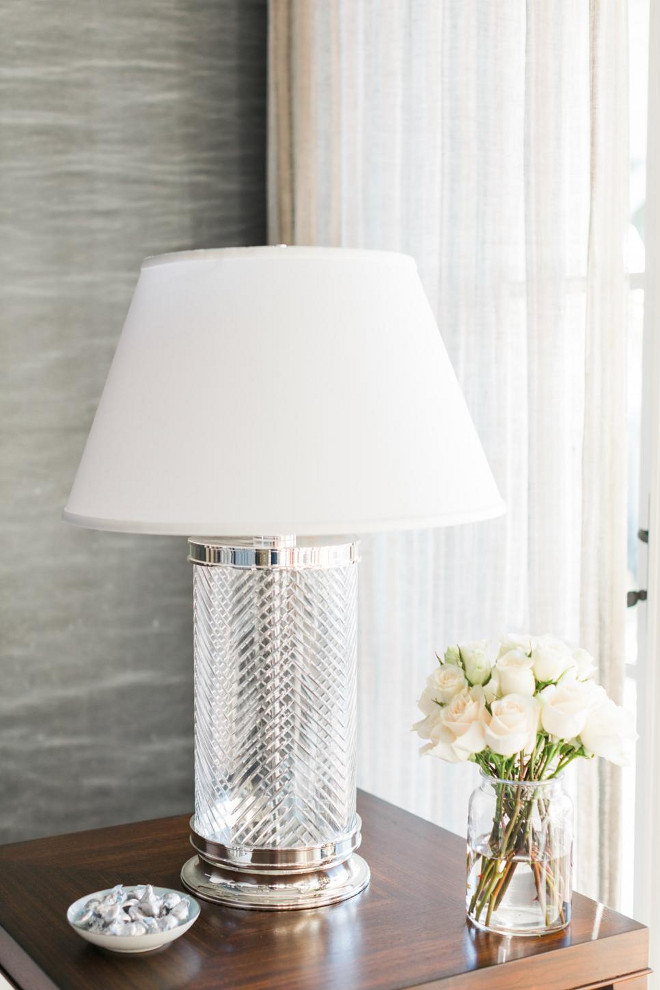 Herringbone Crystal Table Lamp. Ethan Allen Herringbone Crystal Table Lamp HGTV Dream Home 2016 Living Room Lamp