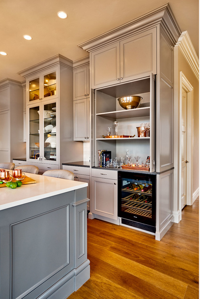 Custom cabinetry kitchens and work surface on pinterest for Beautiful kitchen units designs