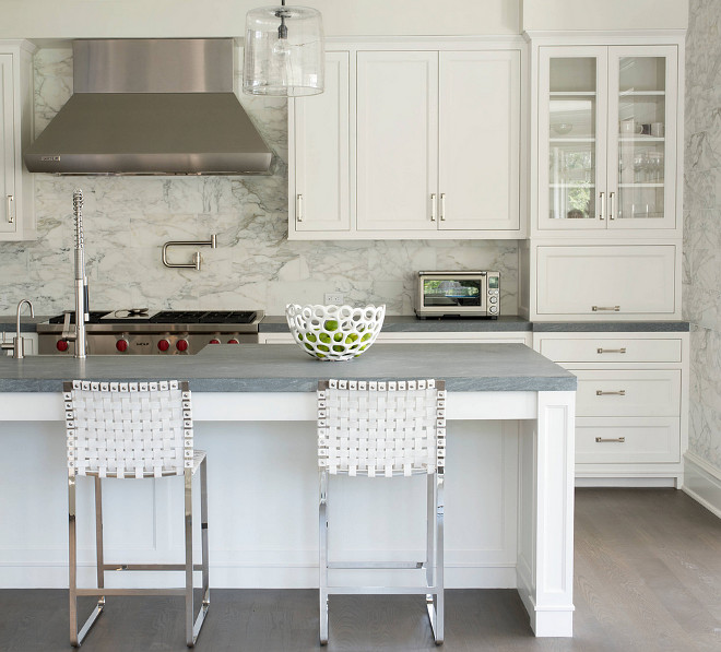 Kitchen Countertops And Backsplash Photos: 80 Home Design Ideas And Photos