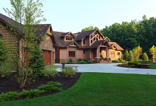 Large log homes. Large log home ideas. Large log home design. Large log home pictures. Large log home photos. #Largeloghome Wisconsin Log Homes Inc.