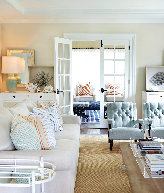 Home Design Color Ideas:  Home With Inspiring Coastal Color Palette