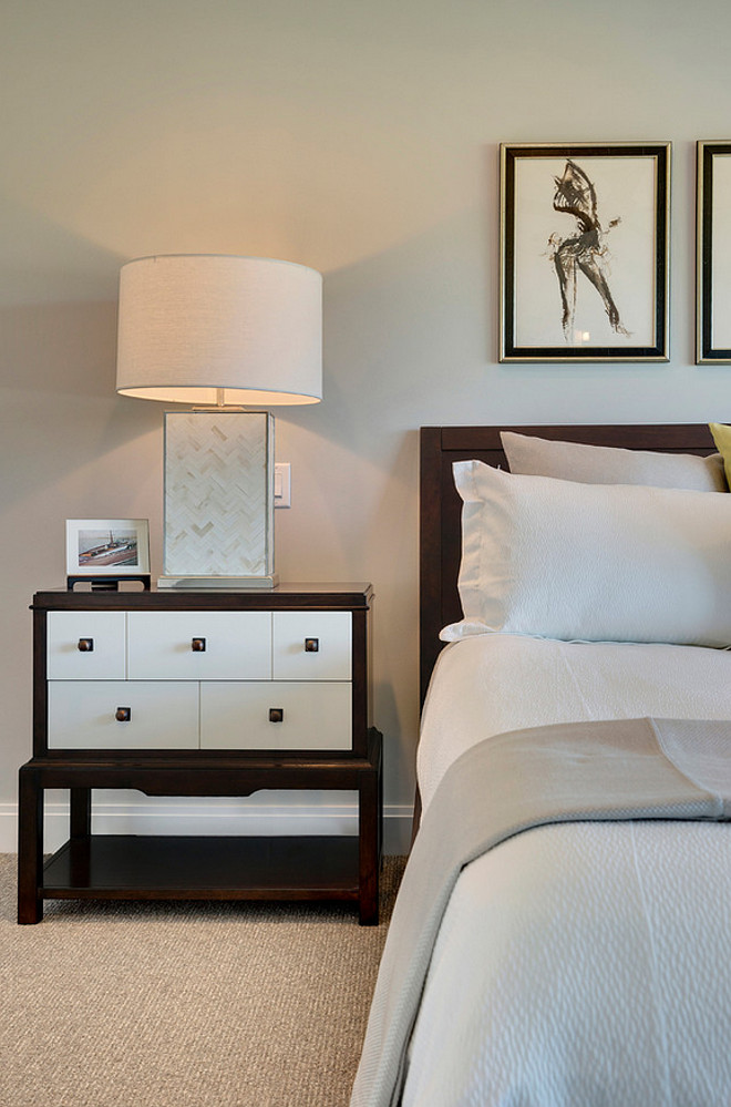Master Bedroom Nightstand. Master Bedroom Nightstand with drawers. Master Bedroom Nightstand drawers for storage and organization #MasterBedroom #Nightstand #drawers Spacecrafting Photography.